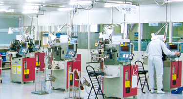 Parts Processing in a Cleanroom