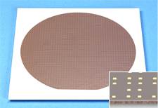 Wafer-level Chip Size Package Substrate (Self-developed material)