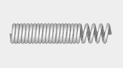 Coil( Unequal Length Pitch )